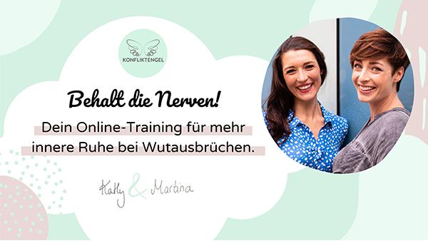 """Konfliktengel Training """"Behalt die Nerven"""" mit Kathy Weber und Martina Stotz"""