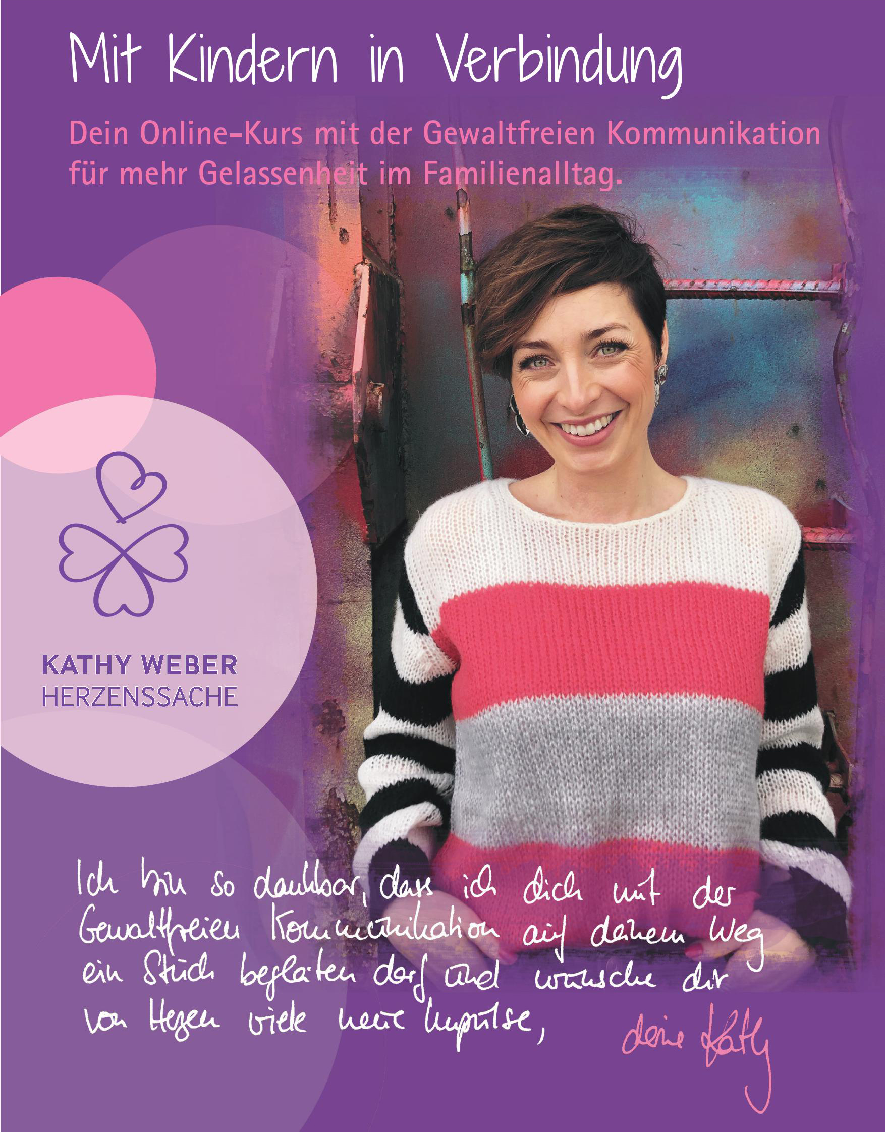 Kathy Weber Herzenssache GfK-Onlinekurs Banner