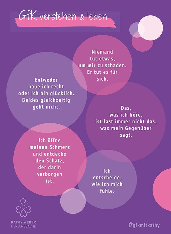GfK Merksätze Kathy Weber Herzenssache lila