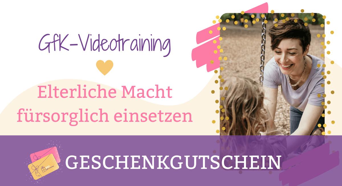 Geschenkgutschein GfK-Videotraining